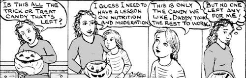 Home Spun comic strip #157