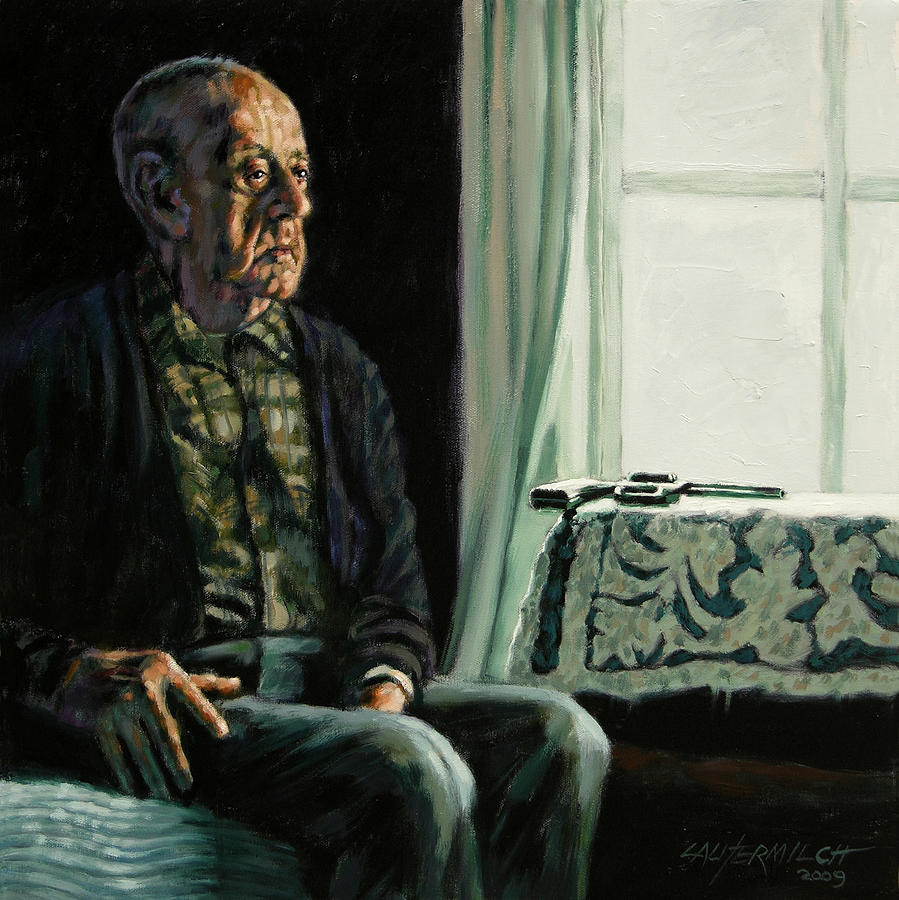 The Decision Painting by John Lautermilch