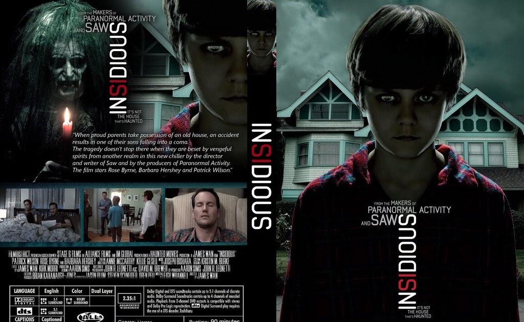 Media Studies A2 Insidious Dvd Cover