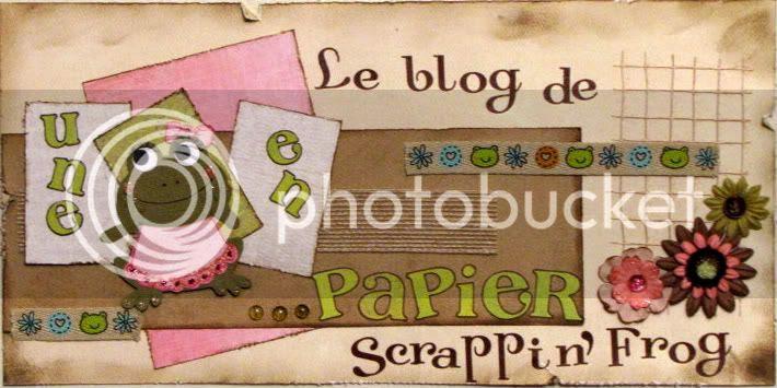 Une grenouille en...papier