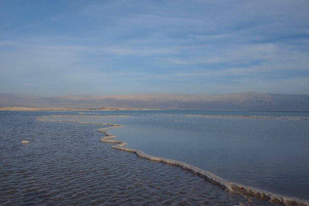 Israel - The Dead Sea - Salt Bridge