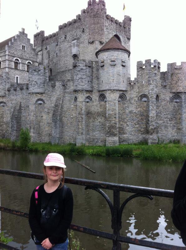 Gent château des comtes de flandres