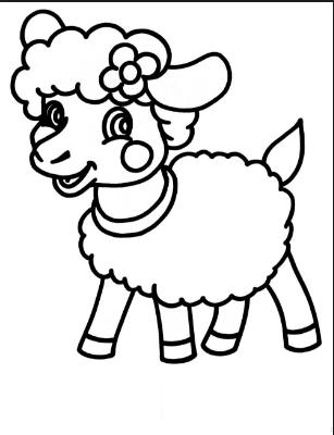 sheepcoloringpagesforpreschoolfreecoloringpagesfor