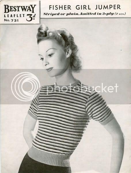 vintage knit patterns
