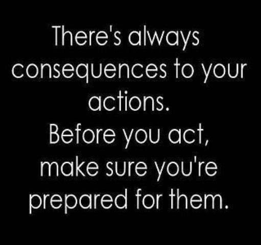 Decisions Have Consequences Quote Quote Number 1006587 Picture