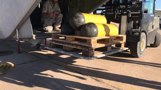 La Armada Española envía a Argentina ayuda para el rescate del submarino «San Juan»
