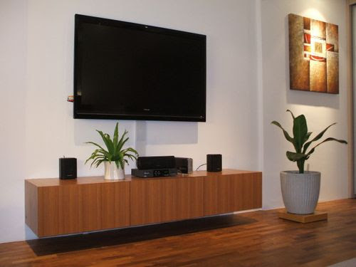 Suspended TV Console
