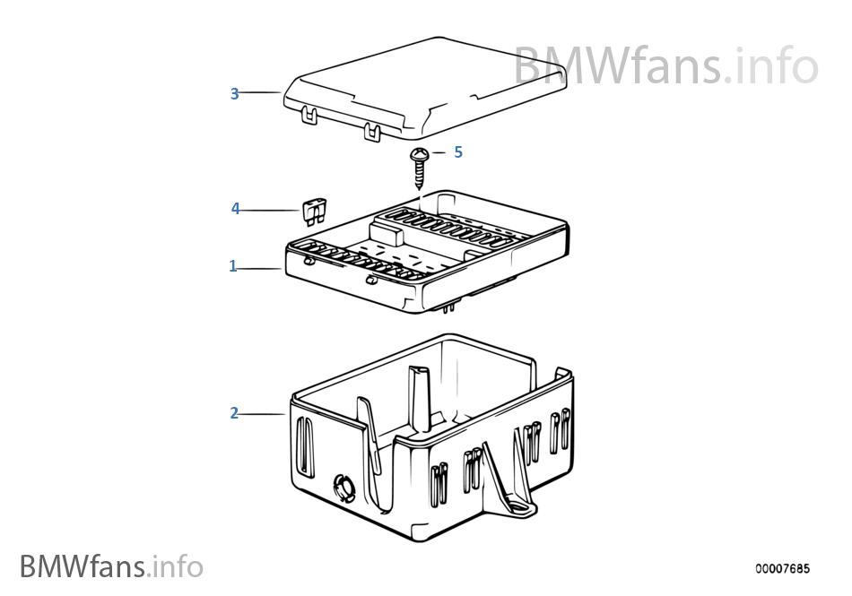 fuse box on bmw 318i