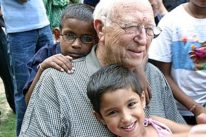 English: William H. Gates Sr., visits the Naz ...