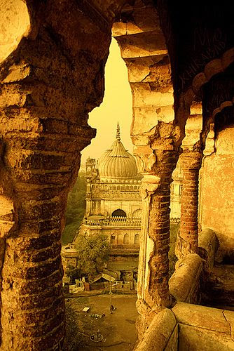 Labyrinth, Lucknow, India. By Curlylocks, via Flickr