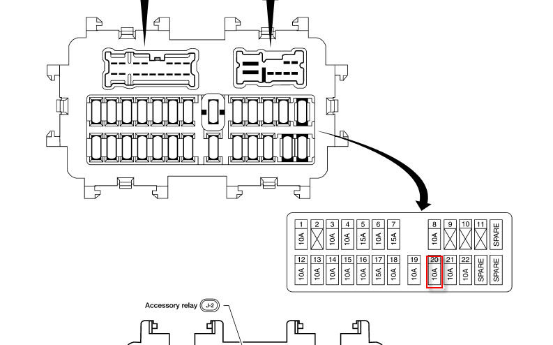 Wiring Diagram  33 2012 Nissan Frontier Fuse Box Diagram