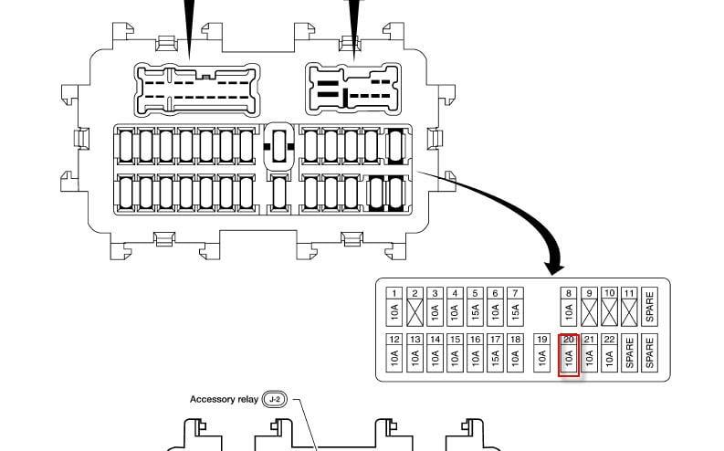 Wiring Diagram: 33 2012 Nissan Frontier Fuse Box Diagram