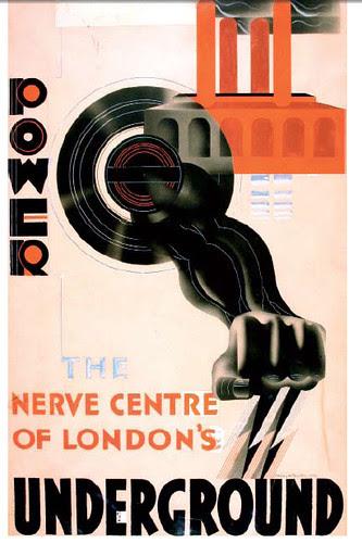 Power by McKnight Kauffer 1930