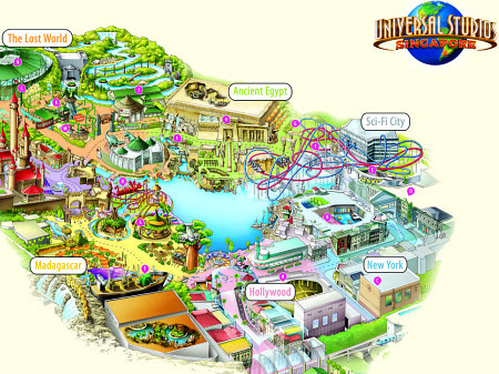 You Will Need the Map of Universal Studios Singapore; Here Is the Reason Why