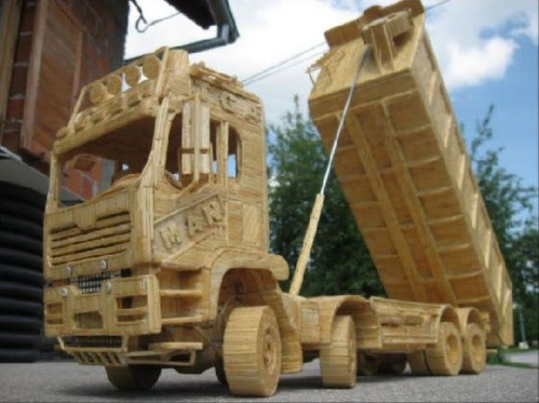 1821 Impressive Matchsticks Vehicles (20 photos)