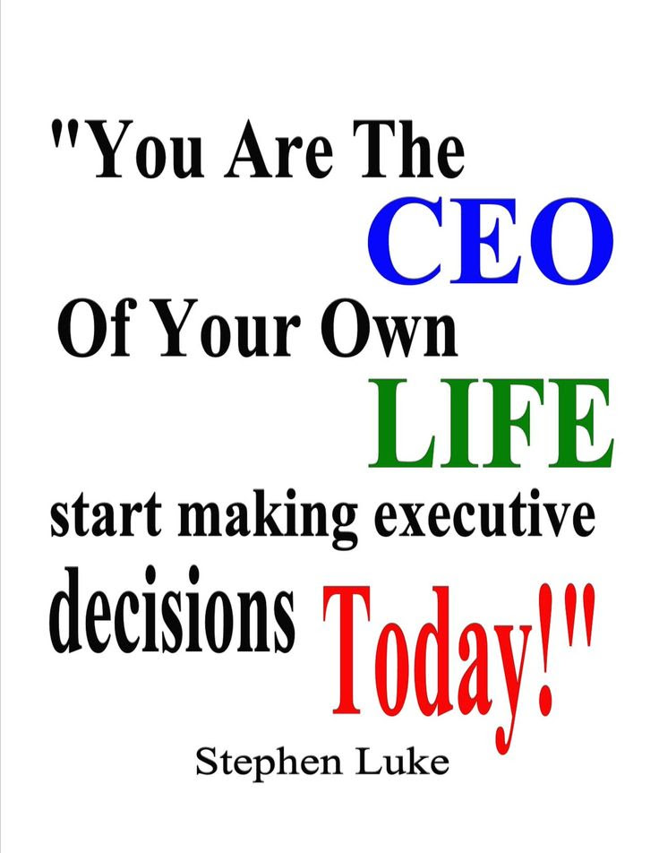 Be Your Own Boss Images
