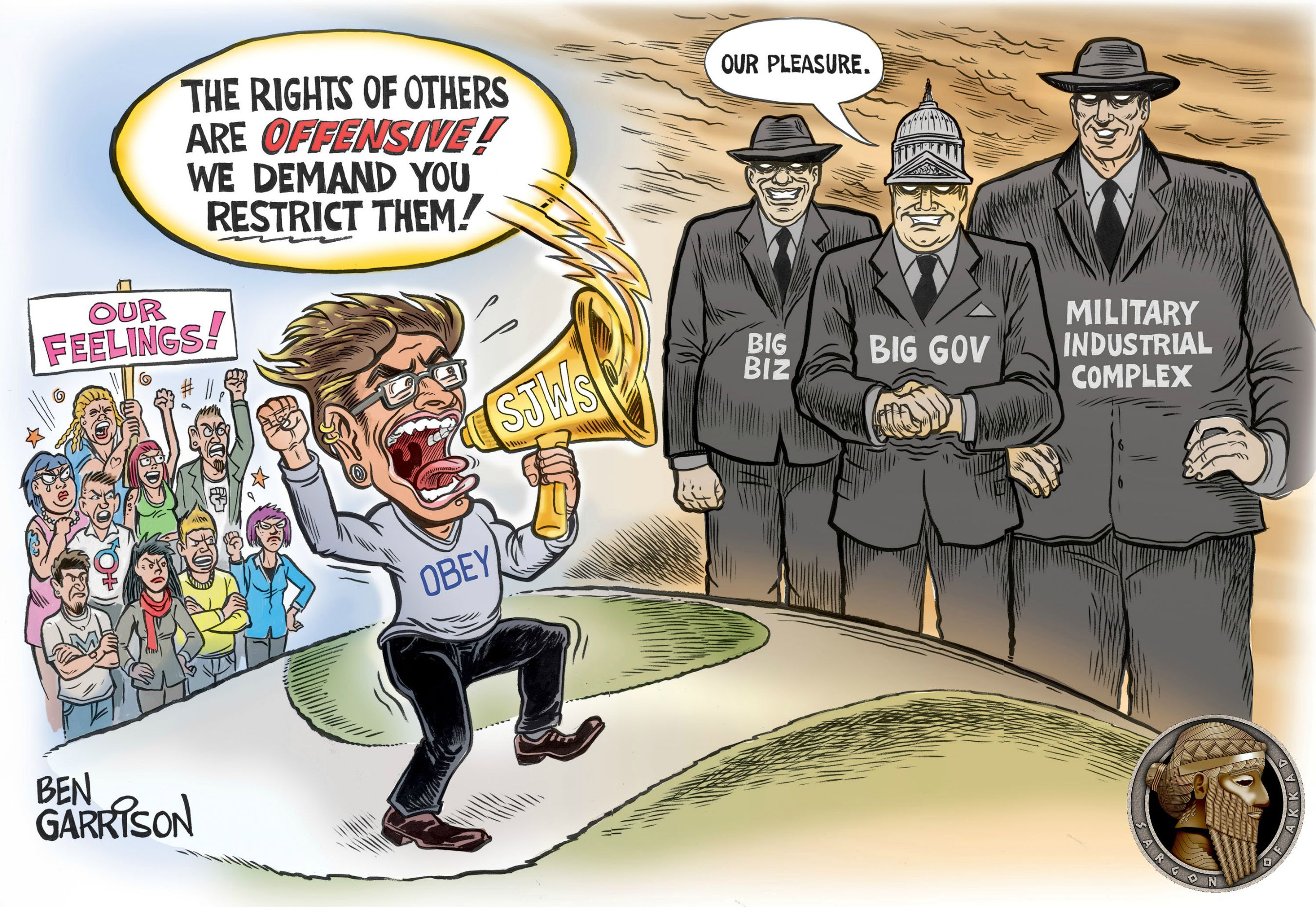 Image result for lunatic media cartoons