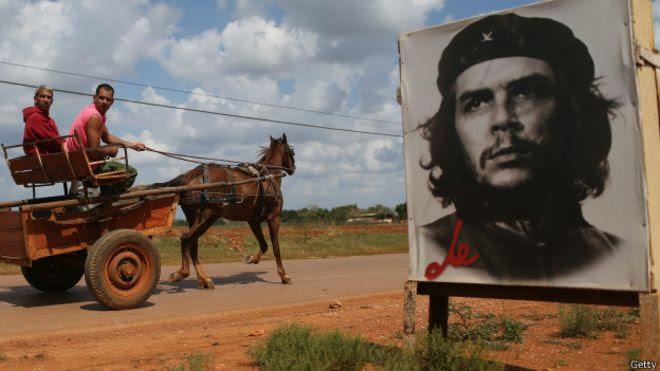 Gravura de Che Guevara (Foto: Getty)