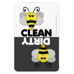 Cute Bee Dishwasher Magnet