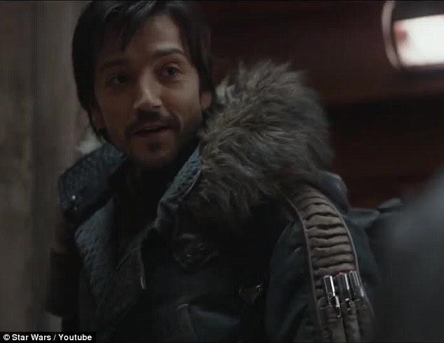 """""""Todo o caminho ': Capitão Cassiano Andor responde que ele eo grupo heterogéneo estão com Jyn"""