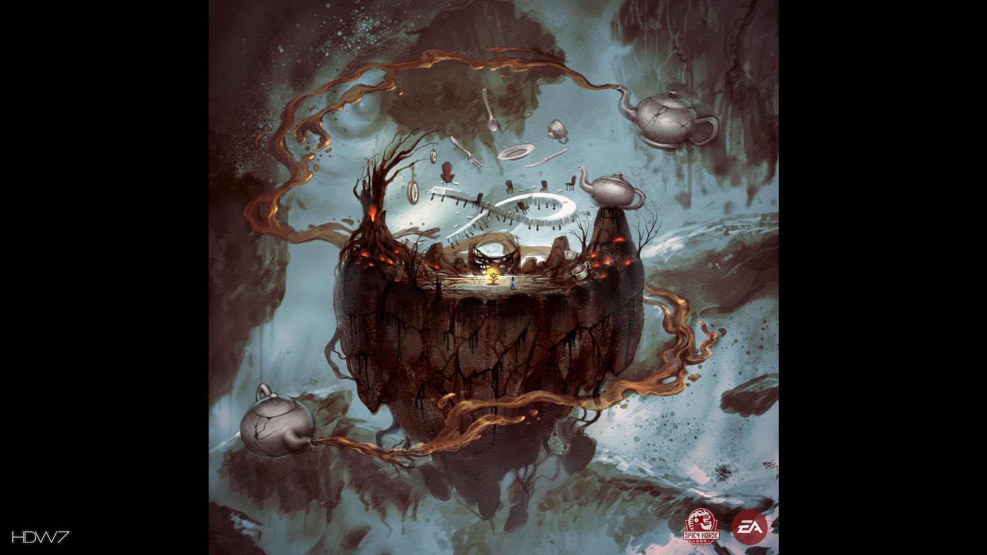 Alice Madness Returns Teapot Cannon Delivery Widescreen Hd