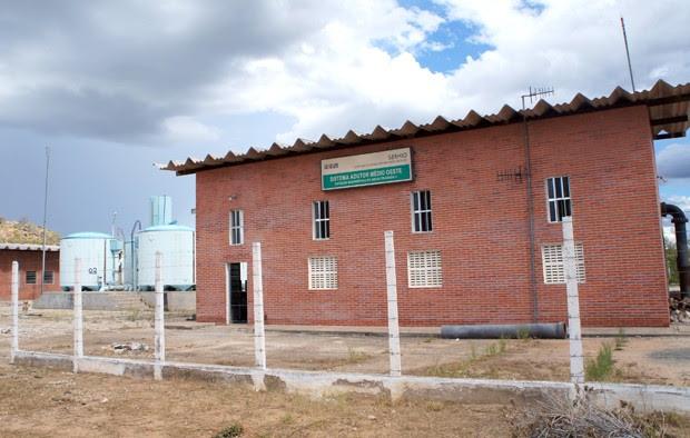 Sistema Adutor Médio Oeste, responsável pelo abastecimento dos seis municípios, passará por manutenção  (Foto: Divulgação/Caern)