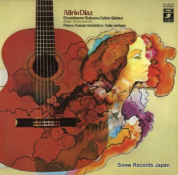 DIAZ, ALIRIO castelnuovo-tedesco; guitar quintet