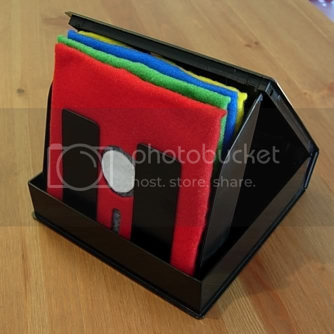 Floppy Disk Coaster Set