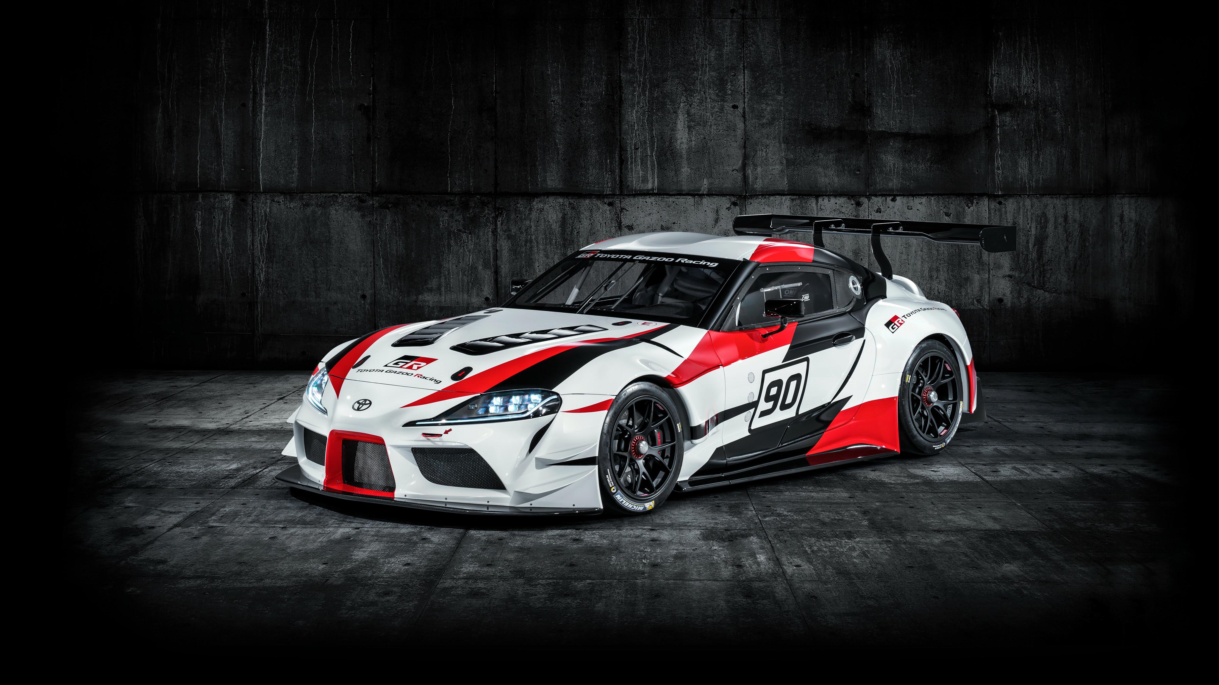 2018 Toyota GR Supra Racing Concept 4K 3 Wallpaper | HD ...
