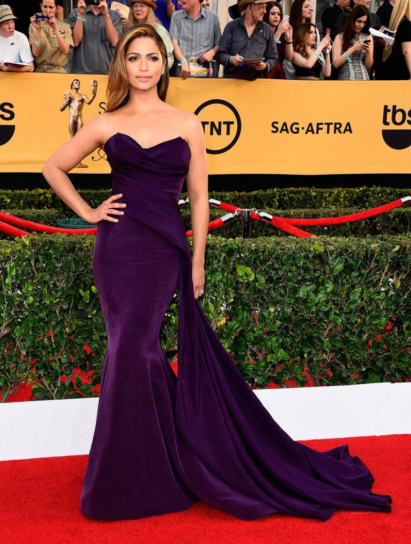 CAMILA ALVES at 2015 Screen Actor Guild Awards in Los Angeles