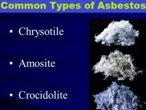 Different Types Of Asbestos  Jims Asbestos Removal