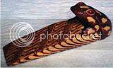 bantalan pintu / Door Stooper ular kayu batik