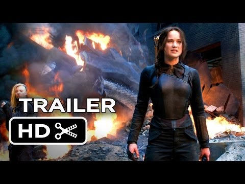 فيلم The Hunger Games: Mockingjay - Part 1 : إعلان الفيلم