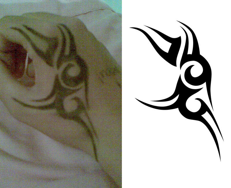 Ceker Tribal Hand Tattoo Designs