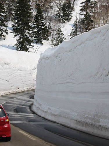 Hakkoda Snow Walls