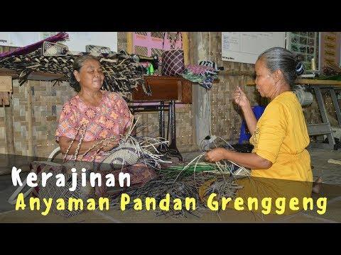 Kerajinan Anyaman Pandan Grenggeng, Kebumen