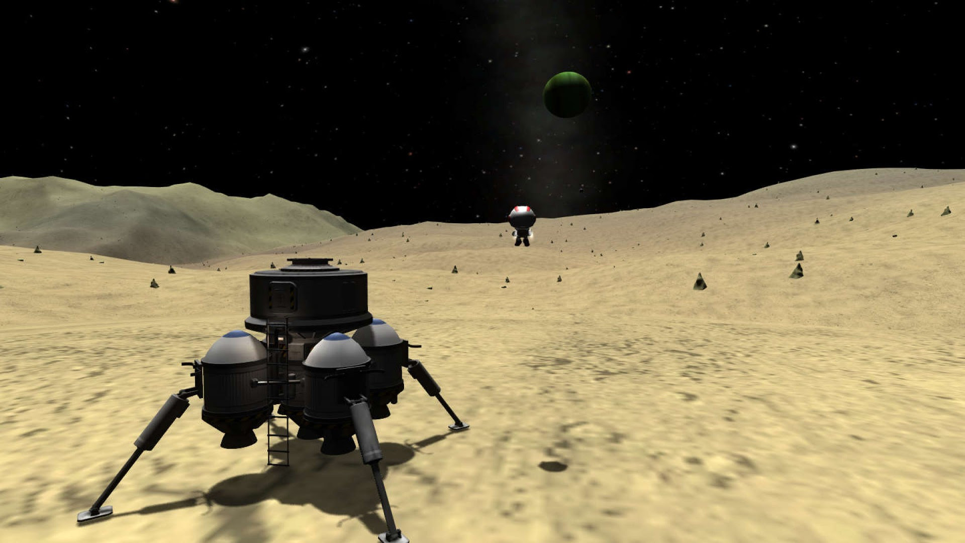 Kerbal Space Program finds a new home at Take-Two screenshot