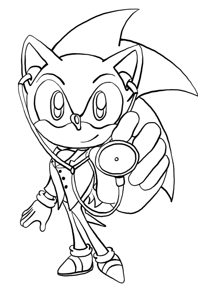 Sonic The Hedgehog Printables - Coloring Home