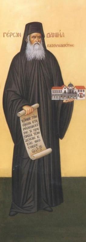 IMG ST, DANIEL of Katounakia, Athos