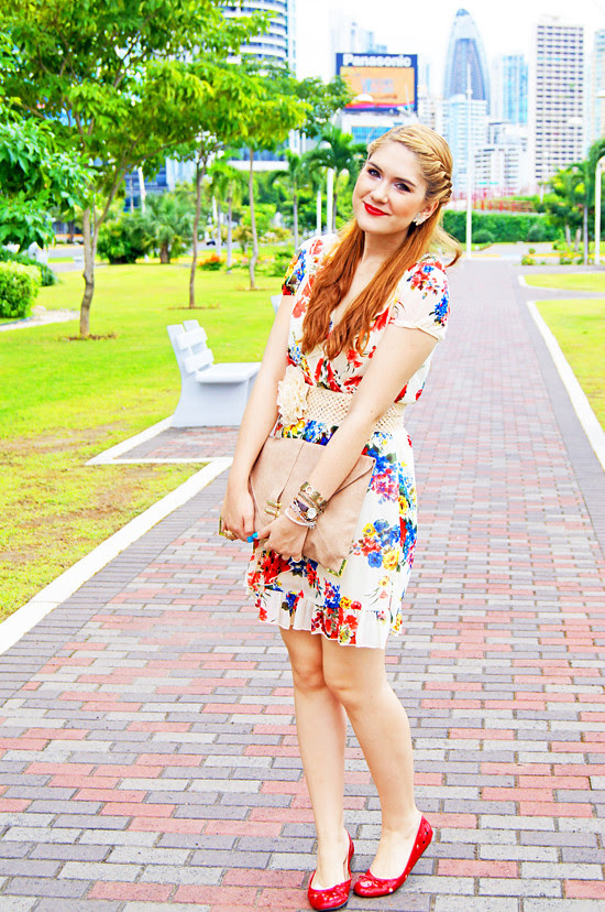 Floral dress by The Joy of Fashion (4)