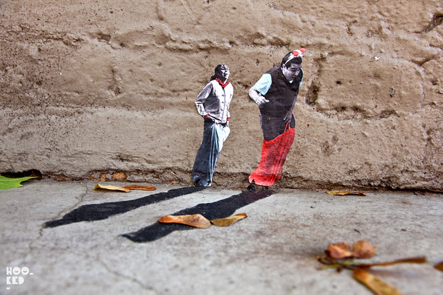 Mexican Street Artist Pablo Delgado new Shoreditch Street Art