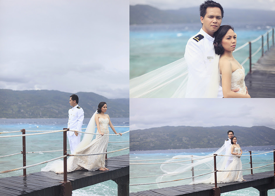 Cebu Wedding Photographer, Bluewater Sumilon Island Post Wedding