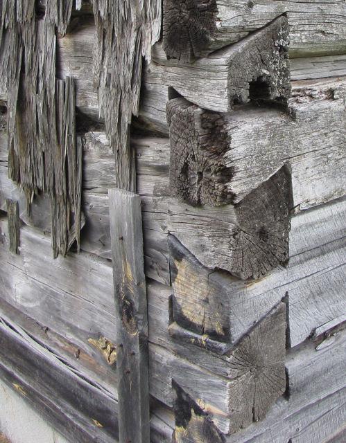 Finnish cabin corner