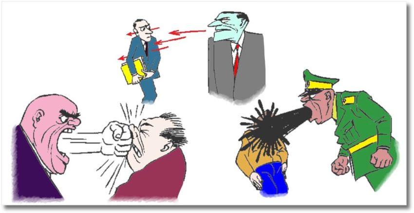 Карикатуры Бидструпа