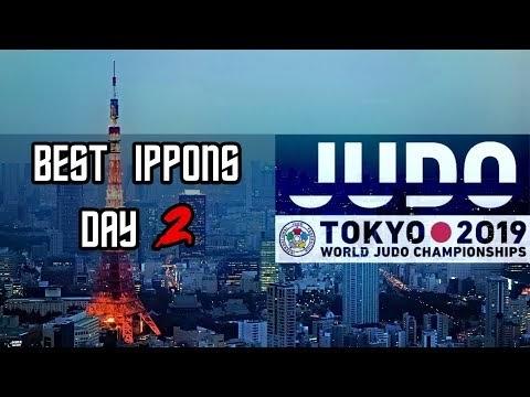 Mundial de Judô no Japão - DIA 2