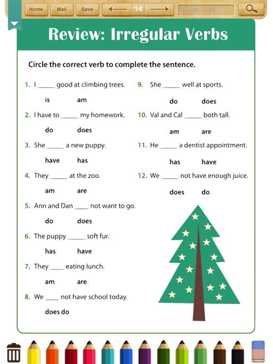 English Grammar Worksheets Grade 2 By Shixian Li