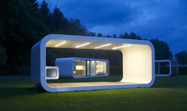 perierga.gr - Κινητό σπίτι επιτρέπει τη διαμονή σε κάθε σημείο του κόσμου!