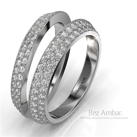 Engagement Ring Enhancers Blue Diamonds Bookends