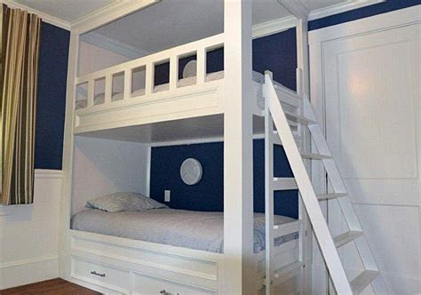 Hand Crafted Architectural Woodworking : Double Bunk Beds
