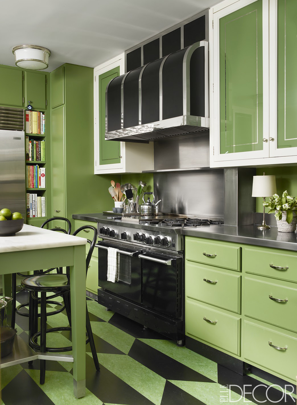 10 Green Kitchen Design Ideas - Paint Colors for Green ...